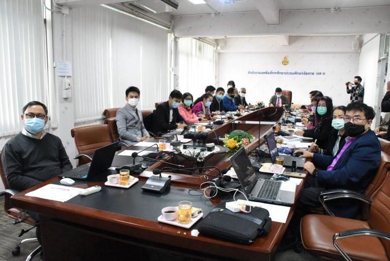 การประชุมบริหารจัดการโรงเรียนคุณภาพของชุมชนและโรงเรียนมัธยมดีสี่มุมเมือง นโยบายใหม่ของ กระทรวงศึกษาธิการพัฒนาคุณภาพการศึกษา