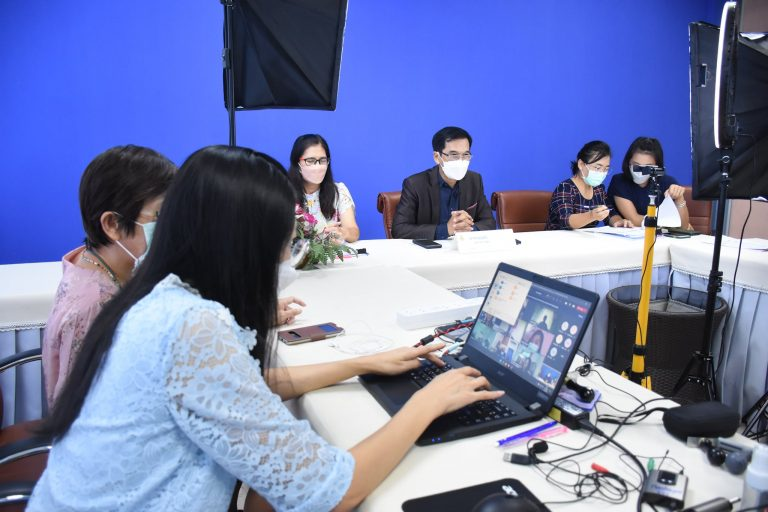 ประชุมออนไลน์ แนวทางเบิกจ่ายโครงการเงินกู้เพื่อแก้ปัญหาเศรษฐกิจและสังคม
