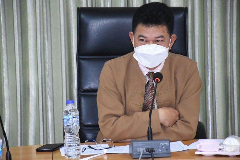 ประชุมคณะกรรมการพิจารณาการเลื่อนค่าตอบแทนพนักงานราชการ 2565
